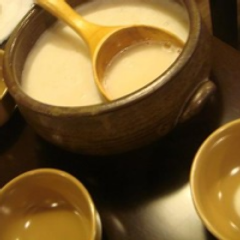 高麗人蔘マッコリ/自起屋でしか味わえない秘伝のお酒です!
