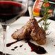 ワインに合うお料理の数々をご用意しております。