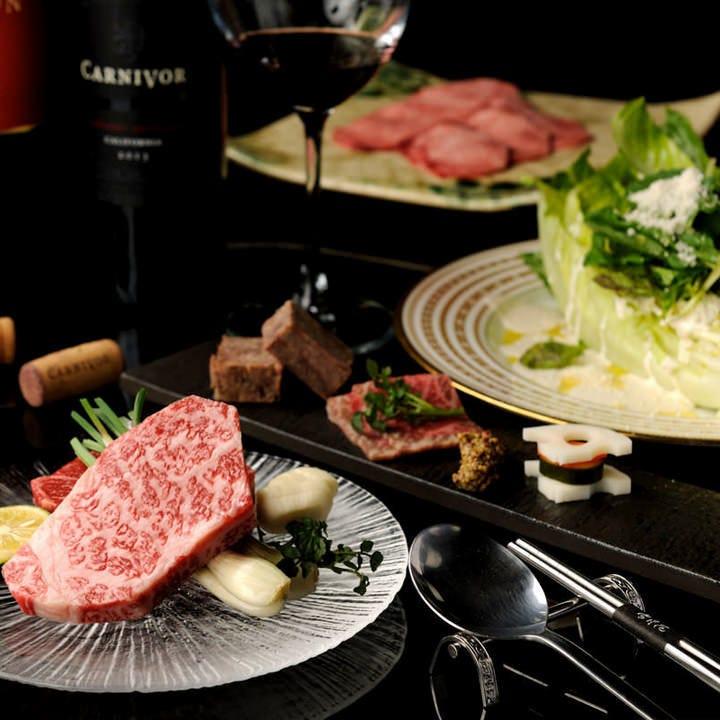 松坂牛をはじめ様々な和牛が繰り広げる美食の祭典【月-TSUKI-】