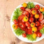 旬の野菜をふんだんに使用しております。