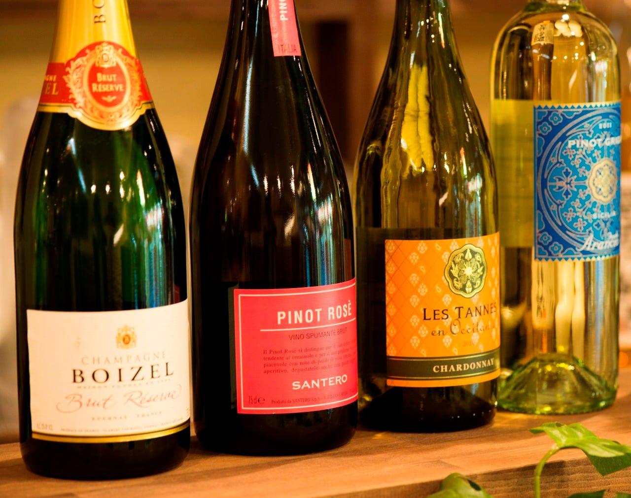 こだわりワインとよく合うイタリアン
