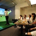 ◎ゴルフ&カラオケ個室 4~最大10名様で楽しめます!