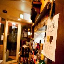 イタリア居酒屋の風情溢れる店内