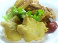道産の真鱈と男爵芋を使用