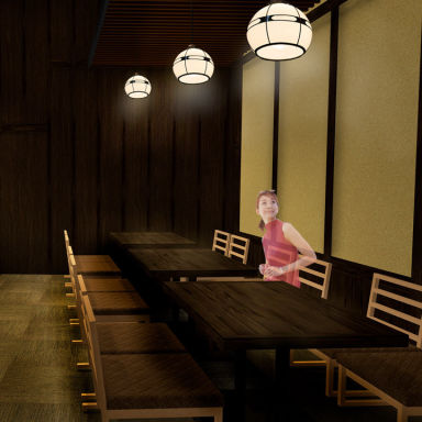 鉄板焼 鶏料理 かしわ 阪急西宮ガーデンズ店 店内の画像
