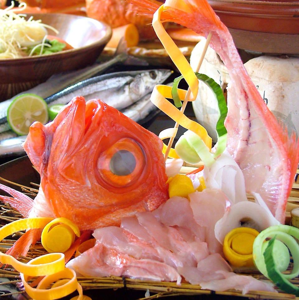 【贅沢の極み!】超美味!金目鯛しゃぶしゃぶ満喫プラン☆2時間飲み放題付き8000円