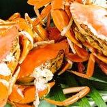 季節の新鮮魚介が自慢!夏~秋にかけて浜名湖のドウマン蟹が登場