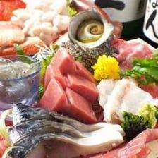 圧倒的魚力で打ち出す四季の美味