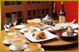 本格広東料理をフルコースで。ご予算等、お気軽にご相談下さい。