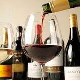 和食の味を引き立てる地酒やワイン、オリジナルカクテルをご用意