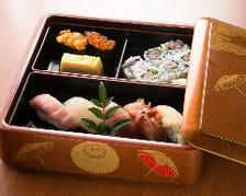 ≪デリバリー≫藤乃の寿司をご自宅へ
