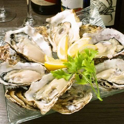 全国から集まる新鮮牡蠣と練馬野菜