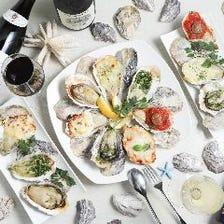 豊富な焼き牡蠣メニュー