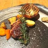 仔羊ランプ肉のステーキ