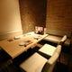 白を基調とした清潔感ある店内 半個室・テーブル席など多数!