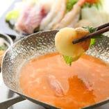 特製ウニしゃぶ鍋
