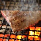 【葉山牛の炭火焼き】 贅沢に葉山牛を炙りでご堪能ください