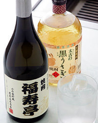 福寿亭オリジナル芋焼酎