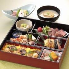 京の懐石弁当 4,180円(税サ込)