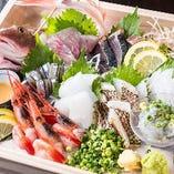 九州から産地直送の鮮魚が満載!