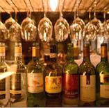 各料理に合うワイン取り揃えております。