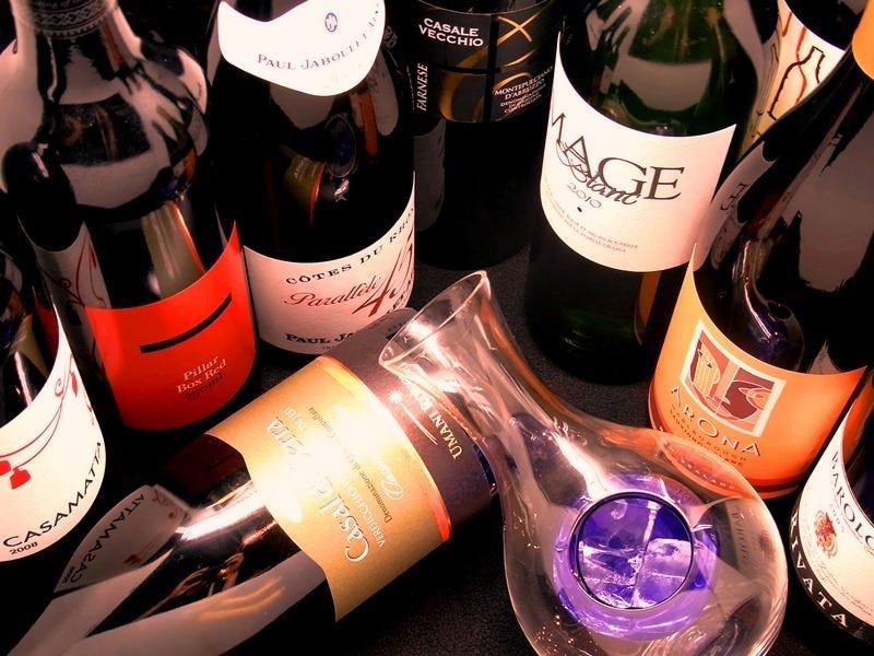 和食と合わせて美味しいワインを楽しむのも粋な楽しみ方
