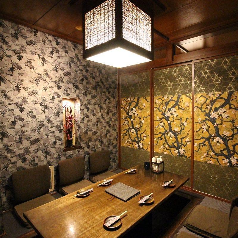 ◆完全個室◆座椅子付きの人気のお席