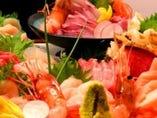 北海道は年中、新鮮なお刺身や 美味しい焼き魚が獲れますよ☆