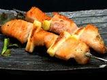 ジャンボ豚トロ 串焼