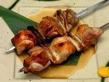 ジャンボ中札内鶏の串焼