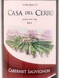 カサ・デル・セロ 2011=産地 チリ (カベルネソー・ヴィニヨン 100%)