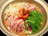 ハーブ豚の辛味噌鍋(2~3人前)冬季限定!