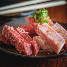 本日のお肉三種盛り