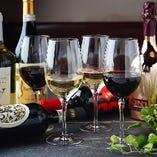 イタリアから様々なワインを取り揃え♪ビールもイタリア産が豊富