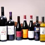 お客様のご要望に合わせて、ワインをお出しします。