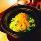 煮穴子と揚げ空豆の土鍋ご飯