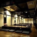 ご宴会場は55名様まで収容可能!10名ごと個室として対応可