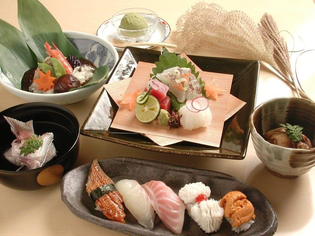 新鮮海の幸の本格板前寿司