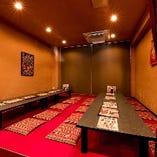 座敷席個室(15~20名様)