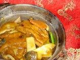 揚げ豆腐の辛味煮込み鍋