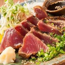 【人気No.1】名物!!カツオの藁焼き