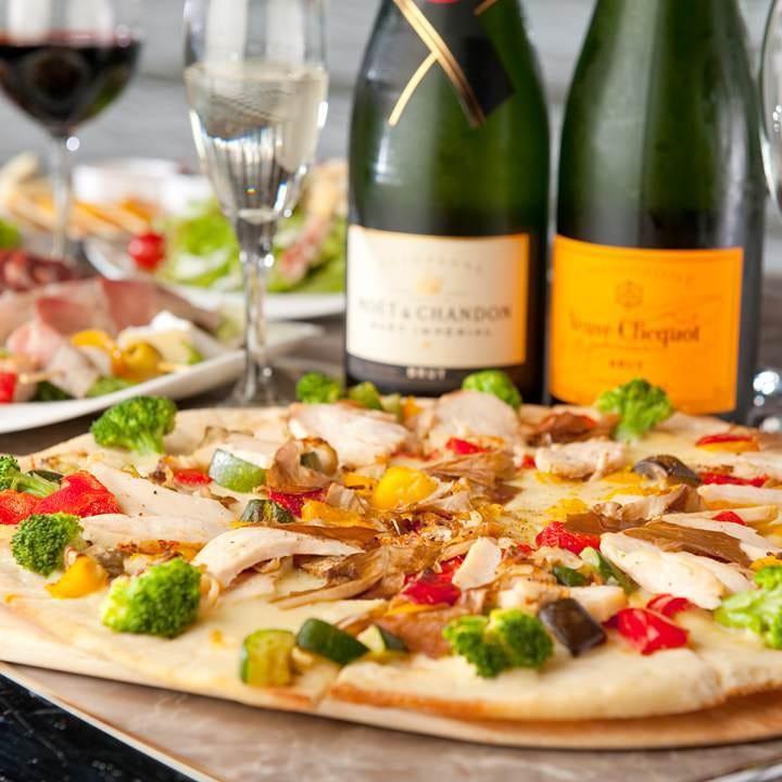 2,500円コース<7品>豪華ビュッフェ!メインパスタ&ピッツァにデザート付|企業宴会や貸切パーティー