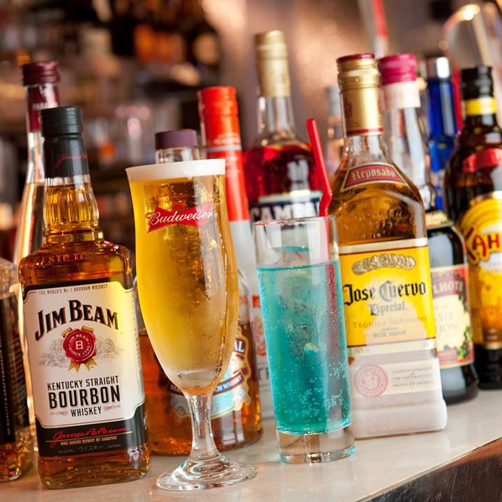 Aコースに生ビール&ビアカクテル付の定番コース Bコース<40種>|企業宴会、結婚式二次会