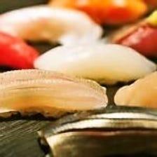 ◆大将の自信が溢れる絶品寿司