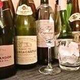 日本酒やワインなど、和食と相性の良いお酒を厳選いたしました。