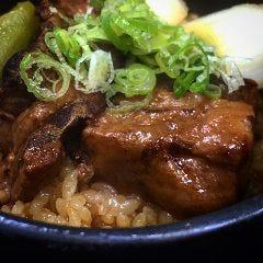 豚の角煮とやわらかねぎの釜飯
