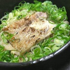 のどぐろと関西ネギの釜飯