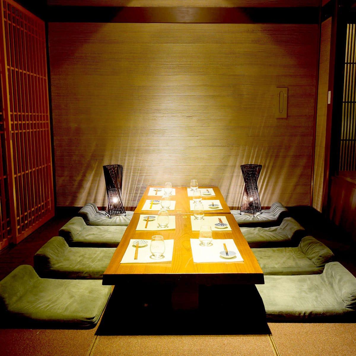 【海浜幕張×居酒屋】 全席完全個室のプライベート空間です◎