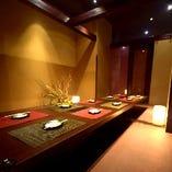 【全席完全個室】最大12名様までご案内可能な完全個室