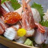 日本酒と相性抜群なお造りや素材の味を引き出すメニューをご用意
